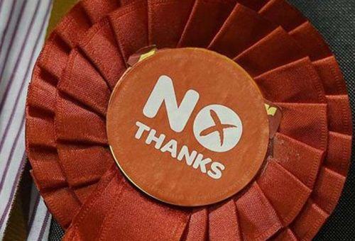 «Όχι» είπαν οι Σκωτσέζοι σε ανεξαρτησία